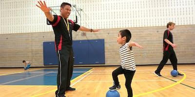 Essai gratuit Sportball à Saint-Léonard pour les enfants 16 mois à 5 ans