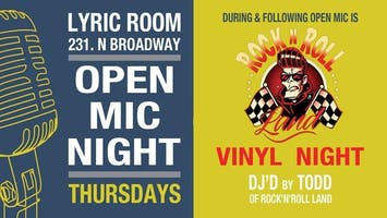 OPEN MIC & VINYL NIGHT, COLD KINGDOM