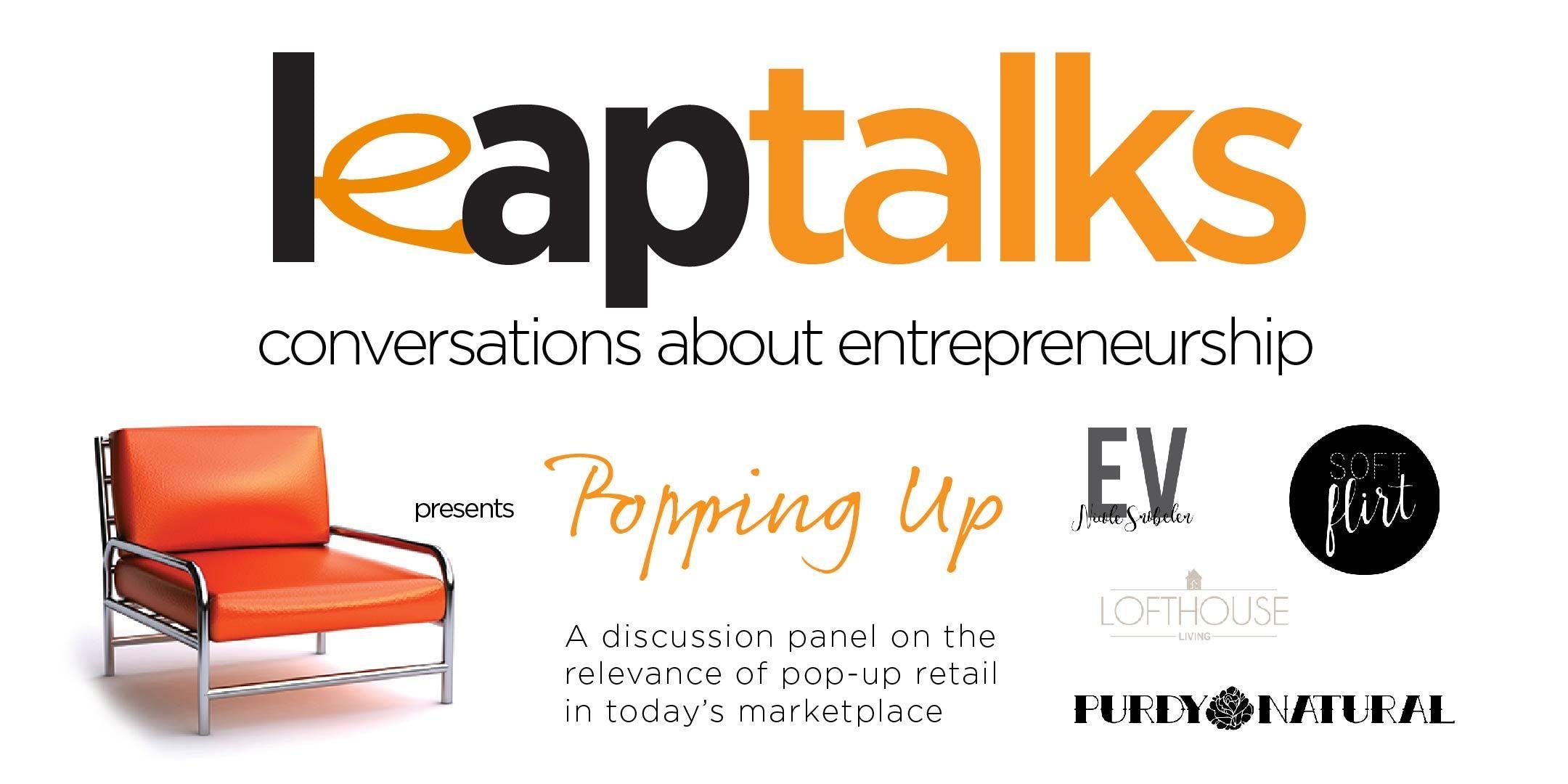 LEAP TALKS | Popping-Up & Fashion Marketplace