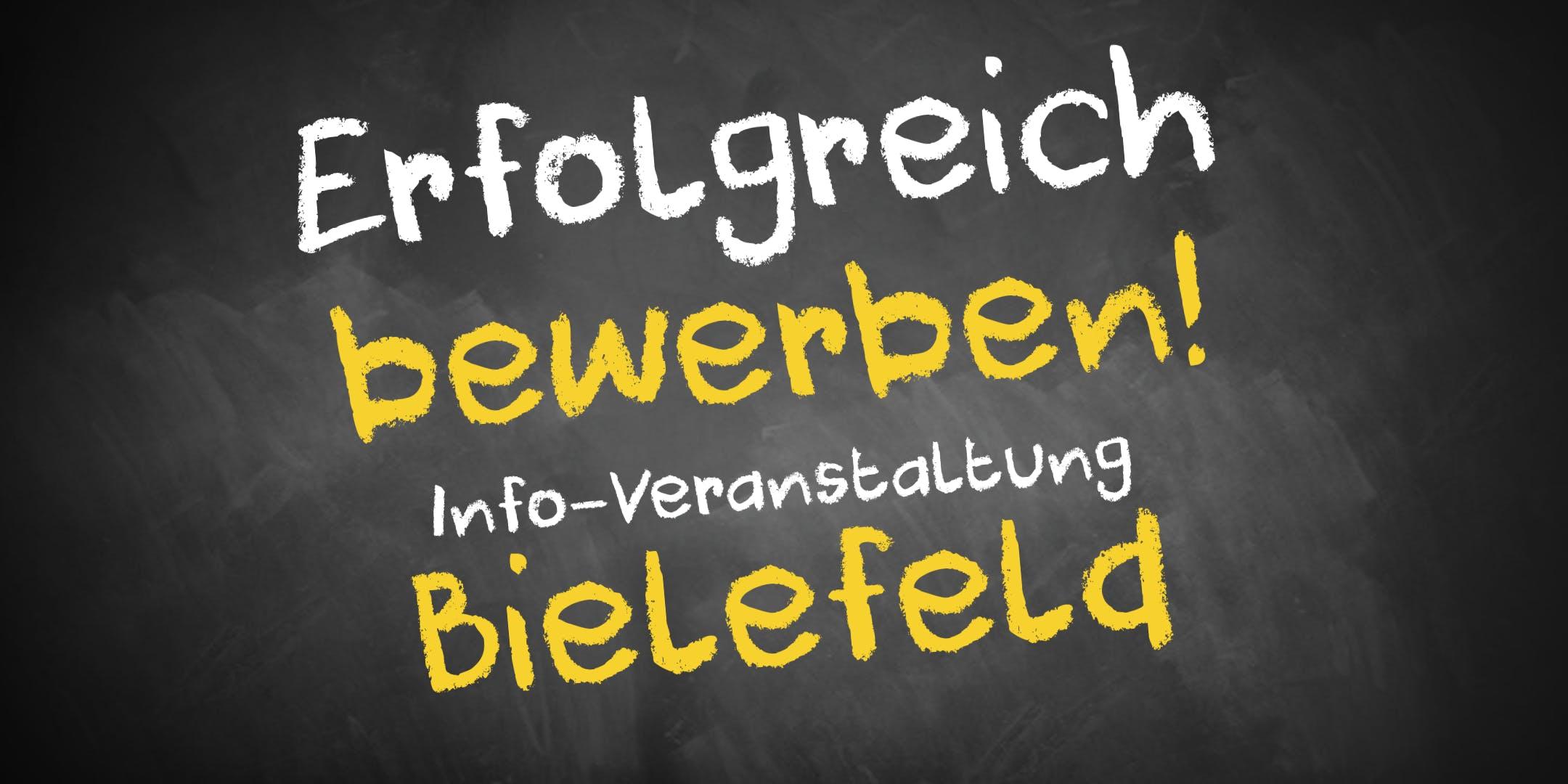 Bewerbungscoaching Infoveranstaltung Bielefel