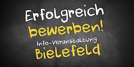 Bewerbungscoaching Infoveranstaltung Bielefeld Tickets