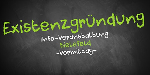 Existenzgründung Informationsveranstaltung Bielefeld