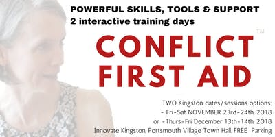 CONFLICT FIRST AID™ Training for Anyone: Offer and Get Solid, SAFE Support