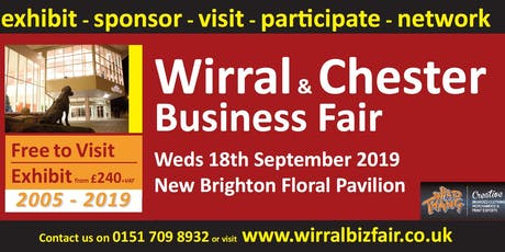 Wirral and Chester Business Fair 2019 tickets