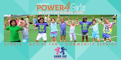 Power4Girls MLK Day Off Event: Deerfield