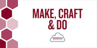 MAKE, CRAFT & DO: Thumbtack Canvas Art