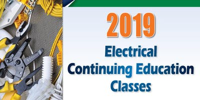 2019 Electrical Continuing Education Class, West Fargo, Jan. 23