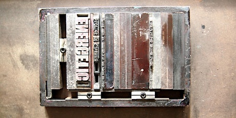 Create a Letterpress Print in the Evening tickets