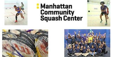 Manhattan Community Squash Center Announcement Party