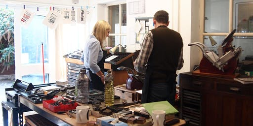 Create a Letterpress Print in the Afternoon