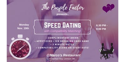 """Find your Holiday \""""Plus 1\"""", Speed Dating & Matchmaking Event!"""