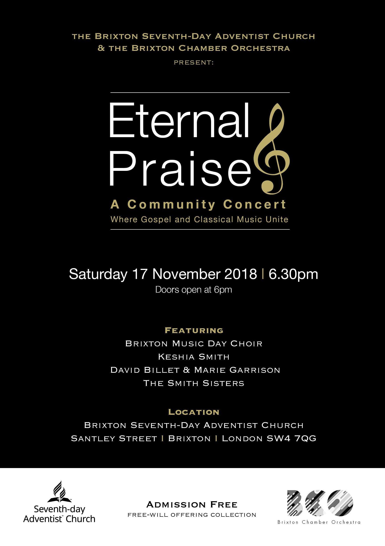 Eternal Praise At Brixton Seventh Day Adventist Church London