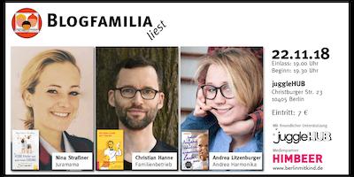 #blogfamilia liest: mit Juramama, Andrea Harmonika und Familienbetrieb