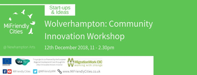 Community Innovation Workshop - Wolverhampton