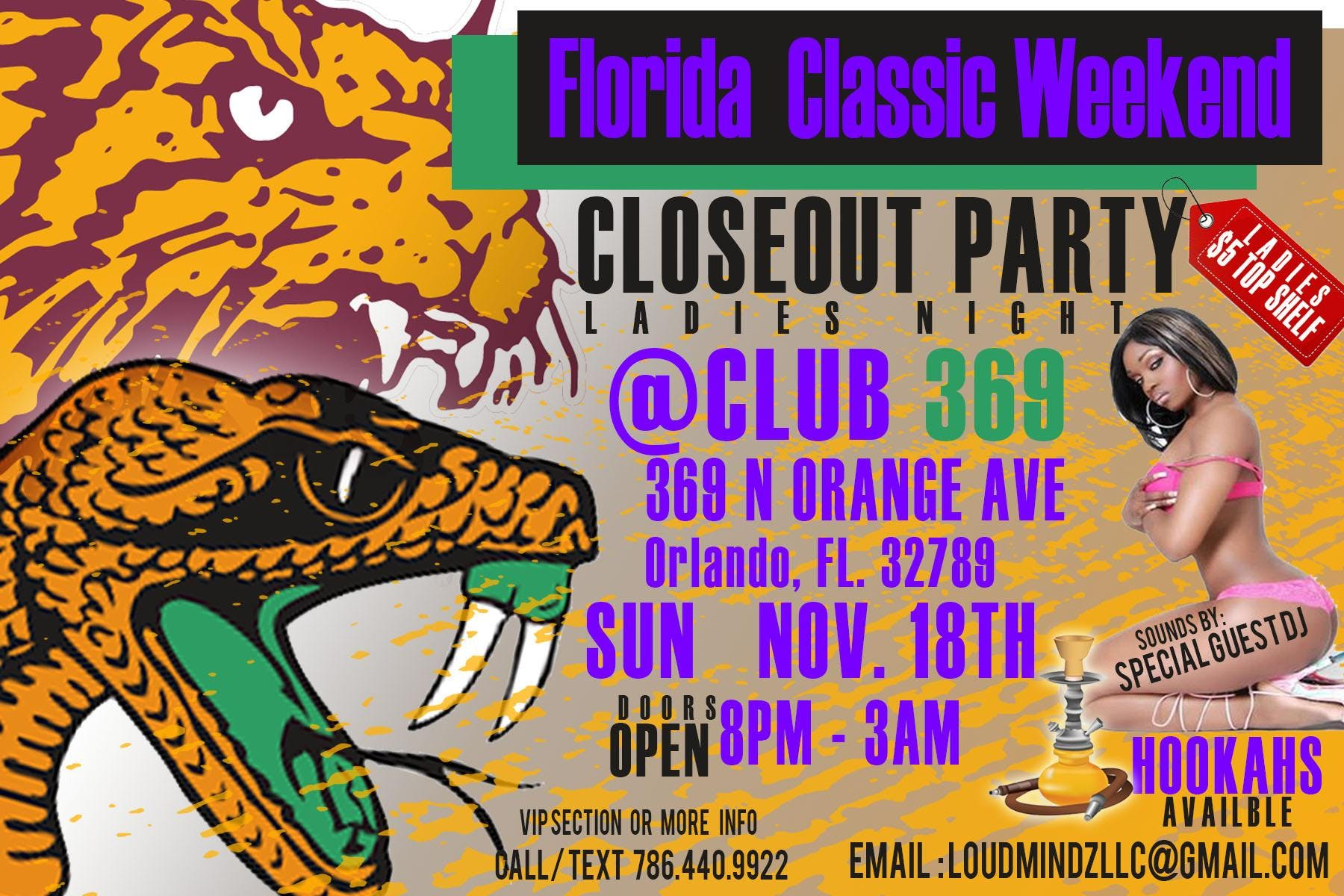 FLORIDA CLASSIC CLOSE OUT AFTER PARTY
