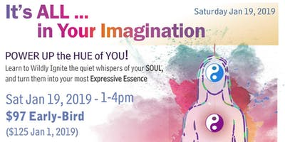 POWER UP the HUE of YOU! PlayShop Sat 1-19-19