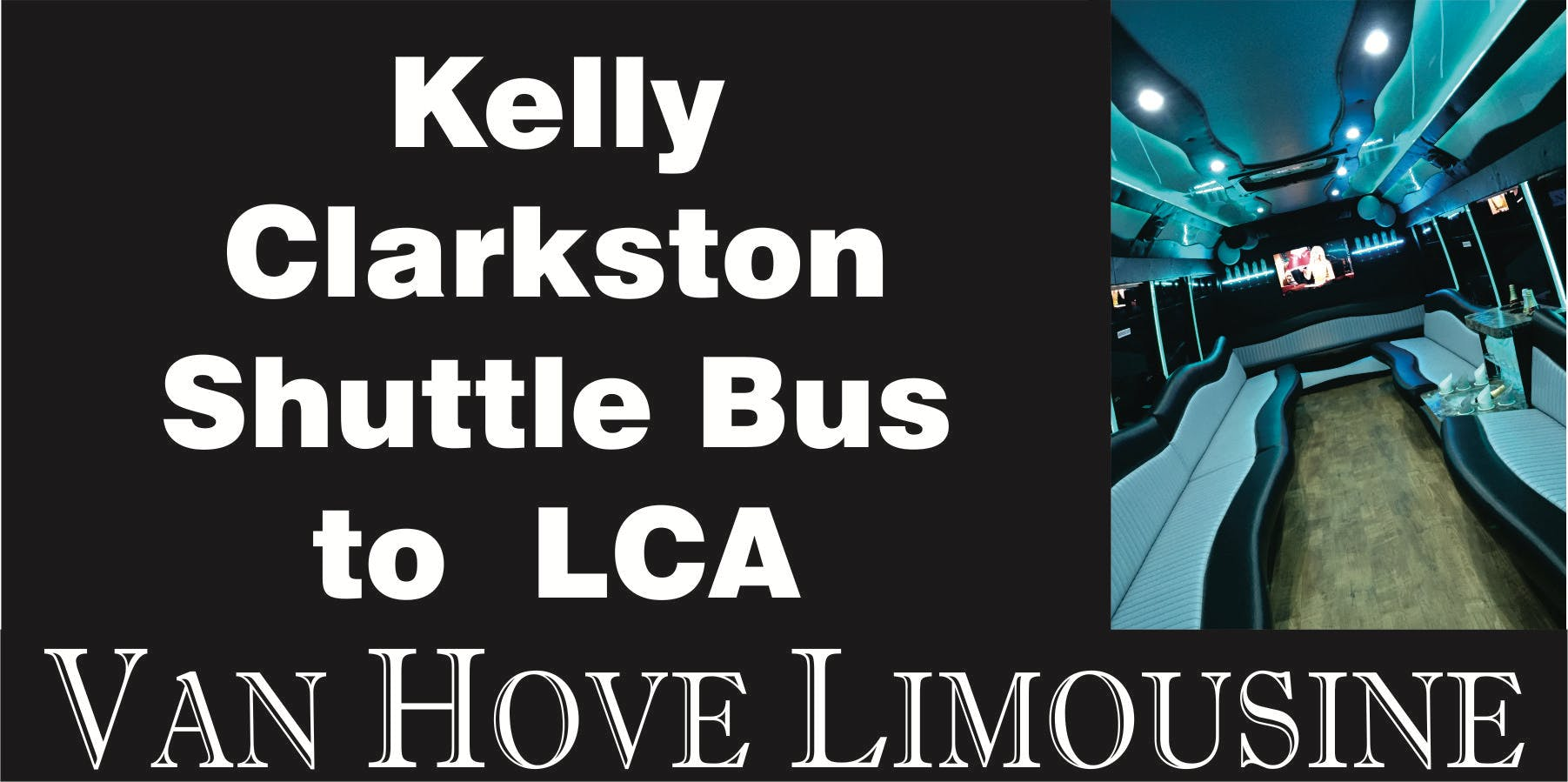 Kelly Clarkston Shuttle Bus to LCA from O'Halloran's / Orleans Mt. Clemens