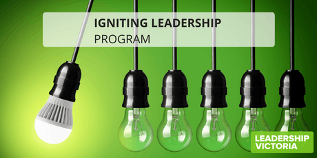 2019 Igniting Leadership Program - Series 3 tickets