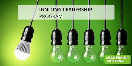 2019 Igniting Leadership Program - Series 3 tickets