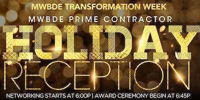 Success In Business ® - MWDBE and Prime Contractor Holiday Reception and Awards Ceremony