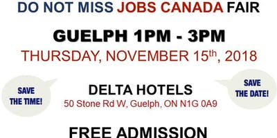 FREE: Guelph Job Fair – November 15th, 2018