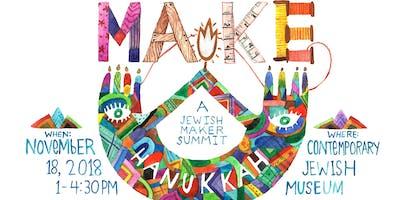 MAKE Hanukkah: A Pre-Hanukkah Maker Summit