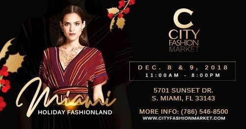 City Fashion Market's Miami Holiday Fashionla