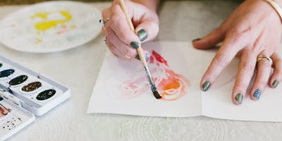 Watercolor & Wine Workshop @ ZACA MESA WINERY in Los Olivos