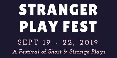 The Stranger Play Festival tickets