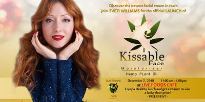 Kissable Face Moisturiser Launch