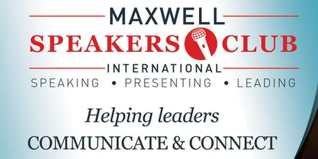 MAXWELL SPEAKERS CLUB INTERNATIONAL - TORONTO CHAPTER tickets