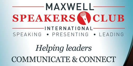 MAXWELL SPEAKERS CLUB INTERNATIONAL - TORONTO CHAPTER