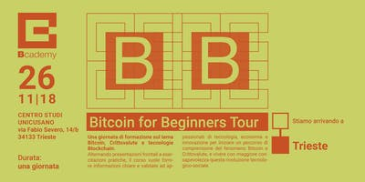 Bitcoin for Beginners TRIESTE