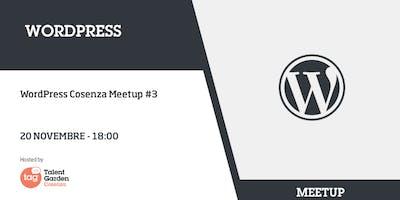 WordPress Cosenza Meetup #3