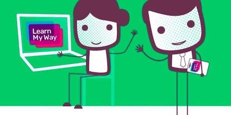 Get online with Learn My Way (Burnley) #digiskills tickets