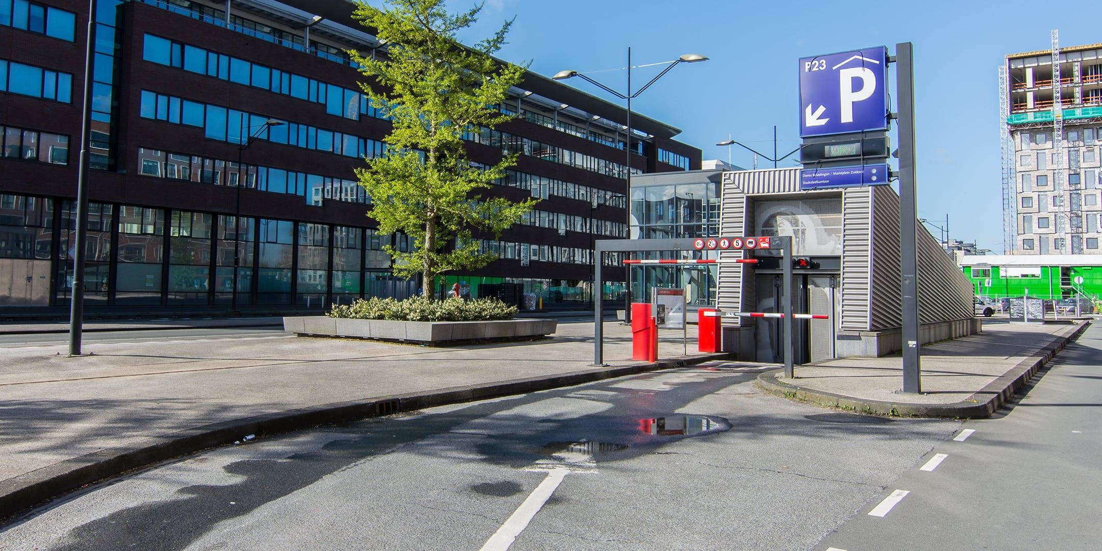 Parkeren Scooter - AFAS Live - Q-Park Amsterdamse Poort P23