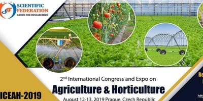 2nd International Conference and Expo on Agriculture and Horticulture