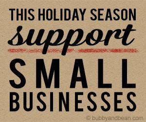 Shop Small Business For the Holidays