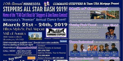 The 10th Annual Mall of America MN Steppers All Star BASH - Home of the Y'ALL CAN'T BEAT US! Steppers & Linedance Contest!