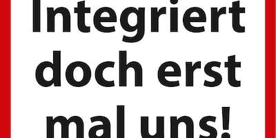 Buchvorstellung und Gespräch: »Integriert doch erst mal uns!«