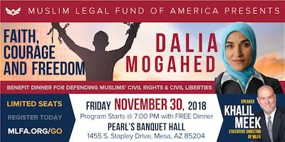 Faith, Courage, and Freedom featuring Dalia Mogahed - Mesa, AZ