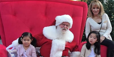 "Hillcrest Mall \""Sensitive Santa\"" Photos November 18"