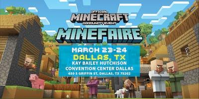 Minefaire: Official MINECRAFT Community Event (Dallas, TX)