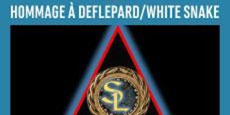 Hommage a White Snake & Def Lepard billets