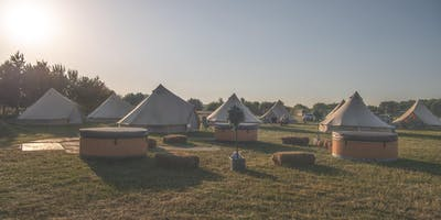 Luxury Glamping at Essex Sausage & Cider Music Festival 2019