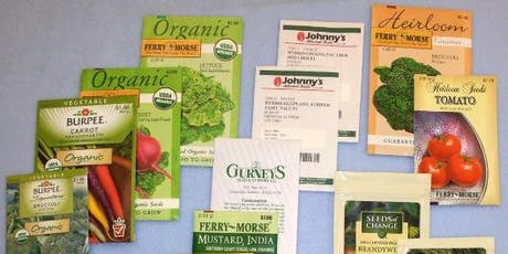 Growing Vegetable Transplants from Seeds- Classroom in the Garden tickets