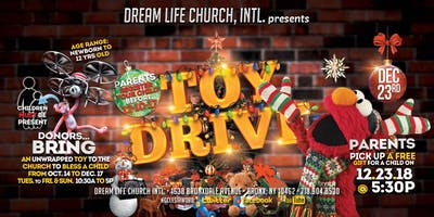 Toy Drive and Toy Giveaway Service