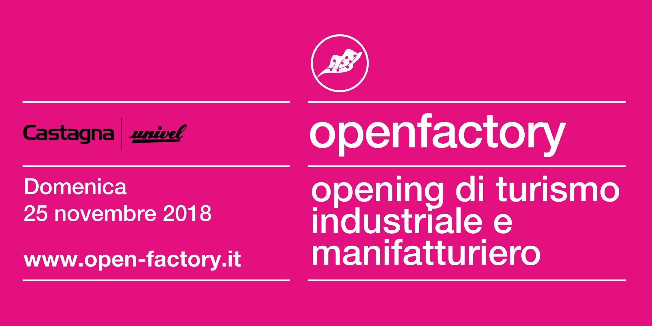 Open Factory Castagna Univel a Guardamiglio e dintorni