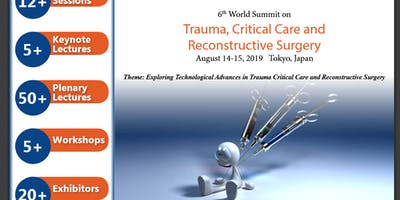 6th World Summit on Trauma, Critical Care and Reconstructive Surgery (CSE) A