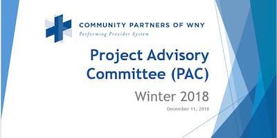 Quarterly PAC meeting